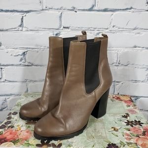 Coach Odelle Syndey Leather Heeled Boots